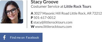 Personal Email Signature Examples - Customer Service [Facebook]