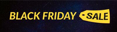 Black Friday banner sale button